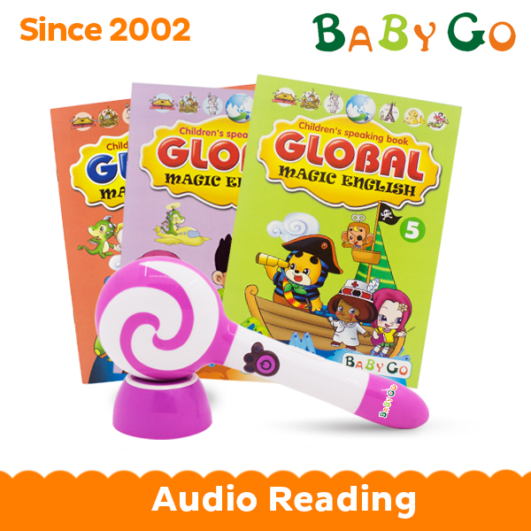Growing up Children learning buddy audio talking pen with books
