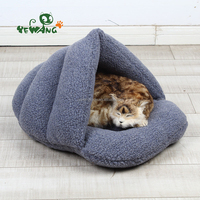 2016 sales popular gray slippers type pet bed for cat