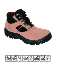 Embossed cow leather allen cooper safety shoes