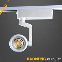 Energy Saving LED Lighting Movable IP20 25W COB Track Lighting