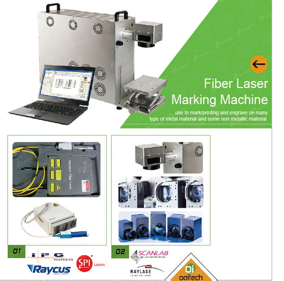 plastic security seal Fiber Laser Marking Machine