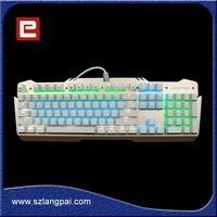 New Design Professional Multiple Colors Backlight Gaming Keyboard