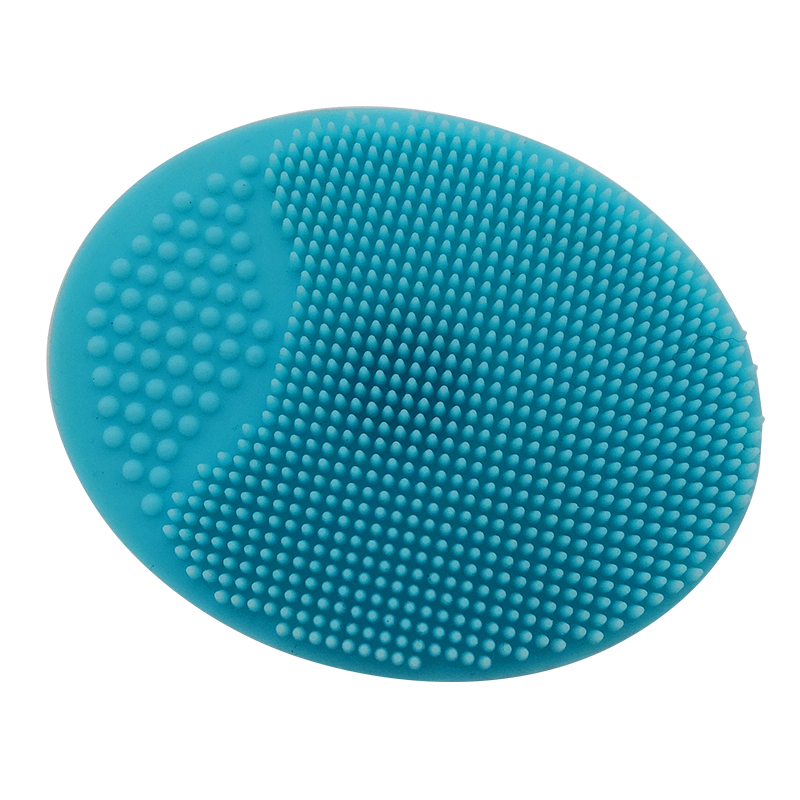 BPA Free <strong>Silicone</strong> Round Facial Cleaning Brush