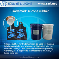 Low viscosity tradmark silicone rubber for label