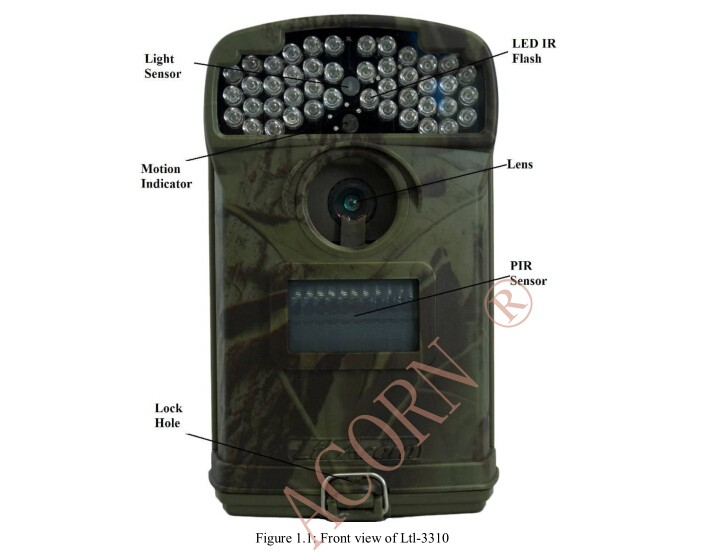 Ltl Acorn Waterproof IP 66 LTL 3310A 940NM 80 degree Night vision Infrared hunting Camera game trail scouting camera