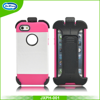 high fashion hard armor kicktand wholesale custom back cover for iphone5