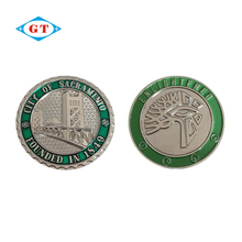 Custom personalized engraved cheap challenge silver coins