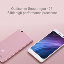 Drop Shipping Original Xiaomi 3G4G Smart Phone Xiaomi Redmi 4A Mobile Phone RAM2GB ROM16GB Quad Core 2cameara 13MP Standby 7days