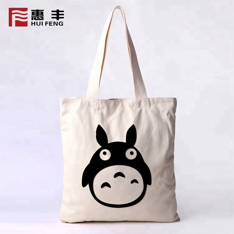 Fashion Young Girl Causal Custom Print Tote Bag Custom Logo
