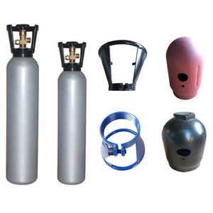 forged steel gas cylinder cap or guard or handle or neck ring for gas cylinder