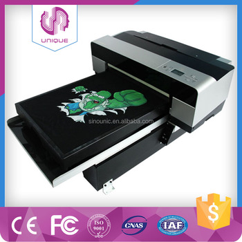 Digital 3D Any color T-shirt Printer