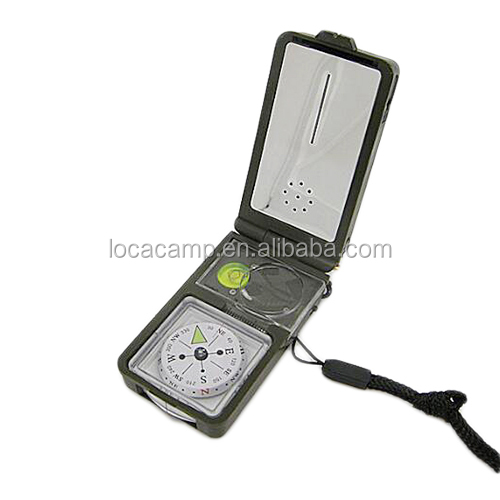 <strong>10</strong> in 1 multipurpose pocket emergecny survival compass tool set