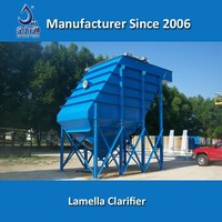 IPC inclined plate clarifier for waste water treatment