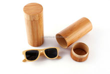 High quality products bamboo sunglasses with case for bamboo sunglass box