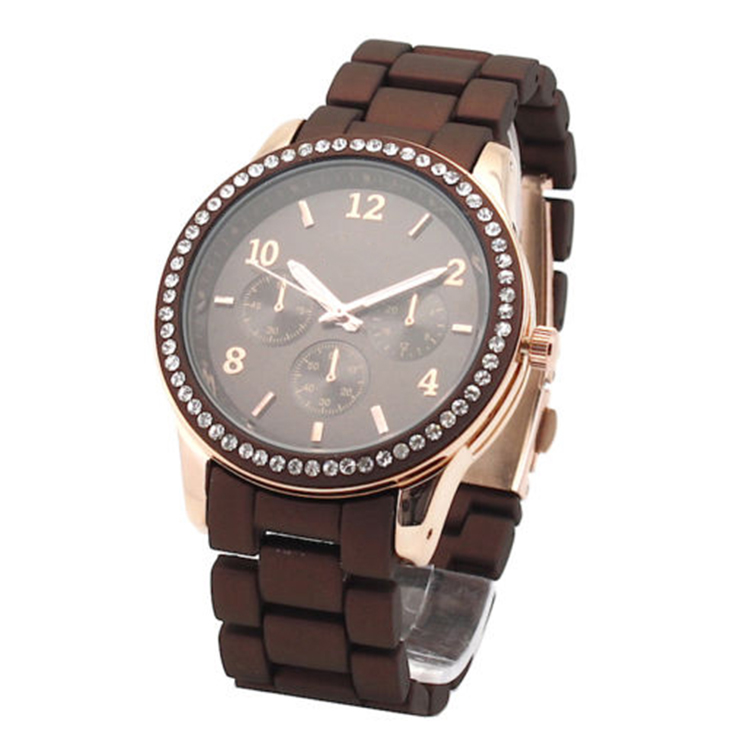 KD sport silicone unusual watches for women