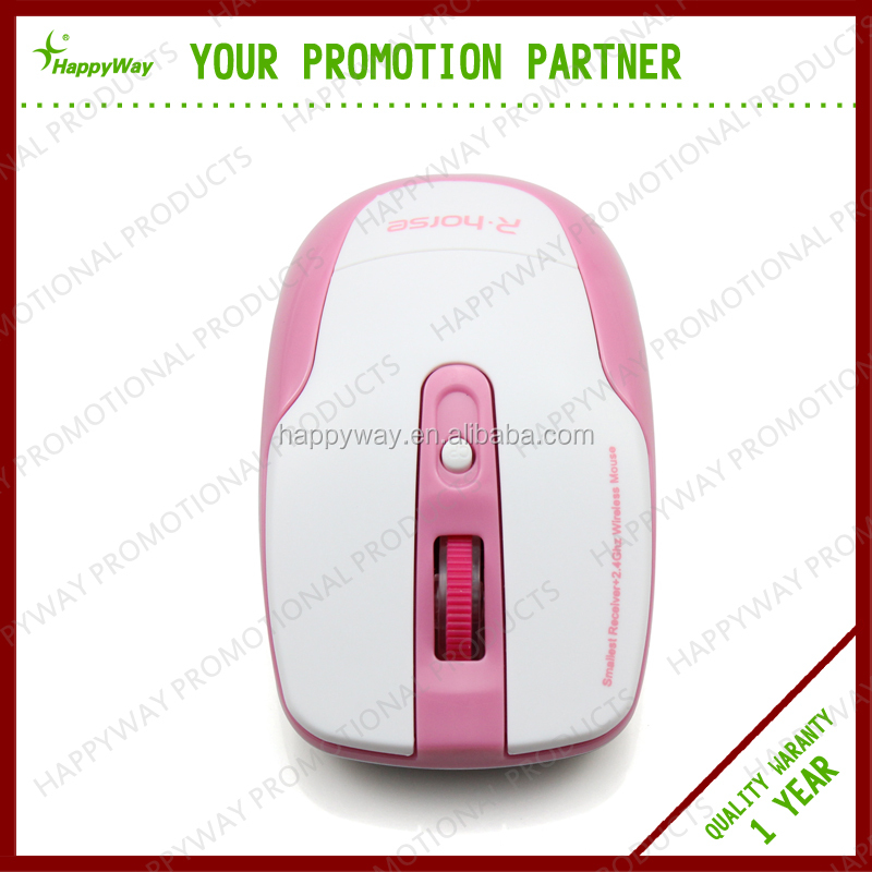Top Grade Wireless Optical Mouse , MOQ 100 PCS 0801024 One Year Quality Warranty
