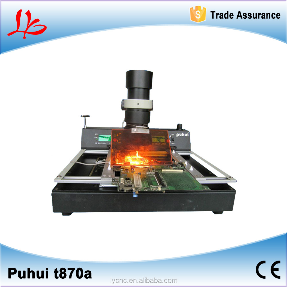 puhui T 870a BGA infrared chip desoldering machine for motherboard repair