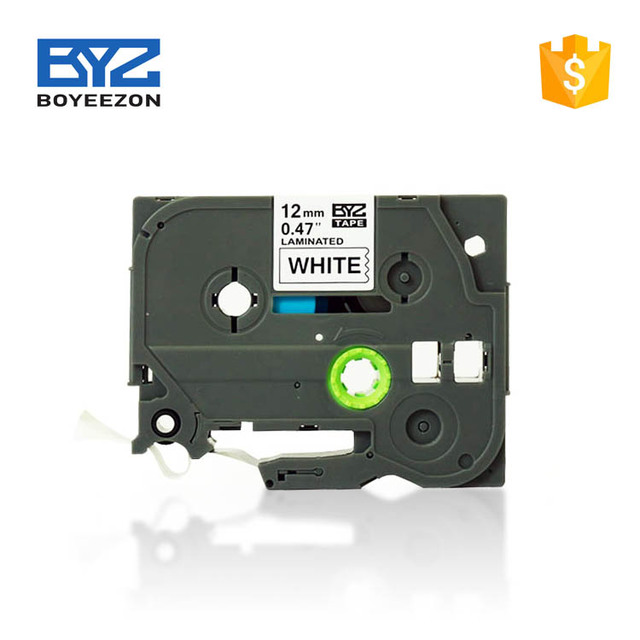 Premium quality compatible tze-231 for brother p touch tz tapes printer ribbon cartridge