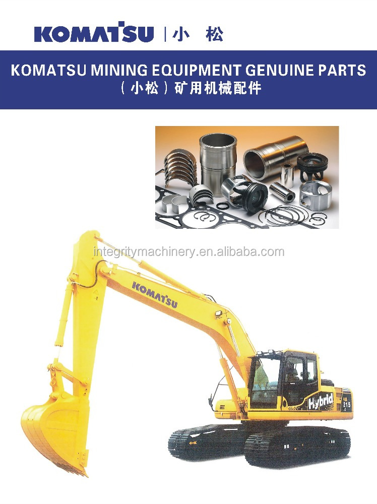 Komatsu bulldozer parts made in Japan