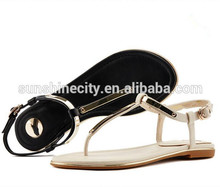 Fashion quality ladies sandal 2016