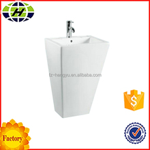 best quality ceramic bathroom pedestal basin sink