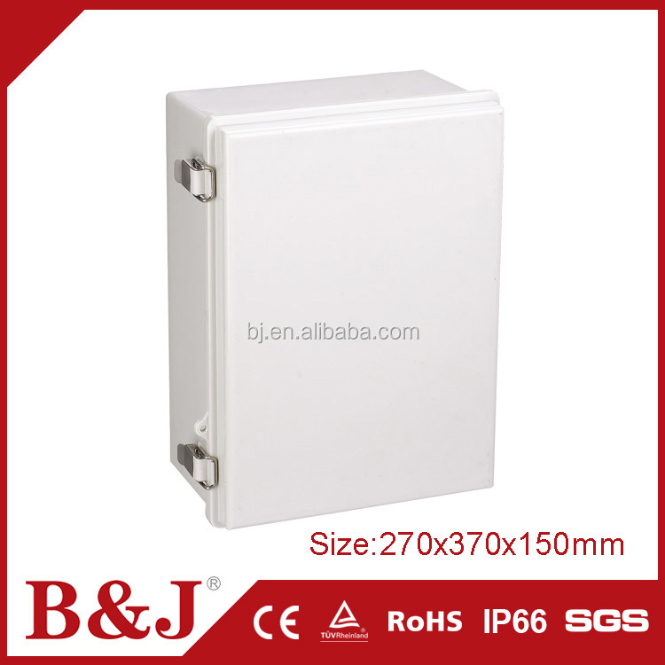 B&J Hot Sale Waterproof ABS Plastic Enclosure Electronic Junction Box With Hinged