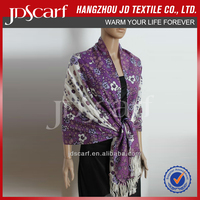 belly dance hip scarf JDY-011# Printing scarf 100% acrylic scarf wholesaler