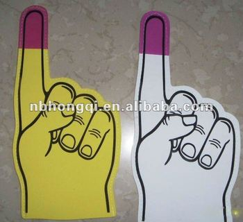 Hot selling Promotional EVA Foam hand Foam Finger