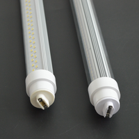2ft-8ft 360 degree smd2835 6 foot doubled sided led r17d f96t12 ho replacement led tube