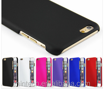 Fashion Rubberized Plastic Hard Case For Iphone 6 6 plus 6s