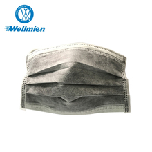 4ply Active Carbon Face Mask ,active carbon mask, Auto Machine Individual Packing
