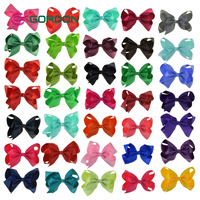 2018 Fashion Accessories Good Price custom 6 inch large big size jojo siwa hair bow for sale