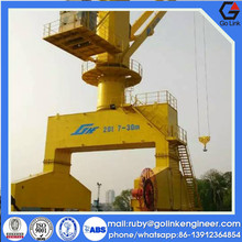 CCS ABS certification new type low price china manufacture hydraulic portal/mobile crane