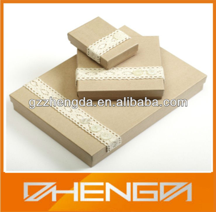 Best Sale Cardboard Jewelry Packaging Boxes For Gift Carton (ZDSJ-J102)