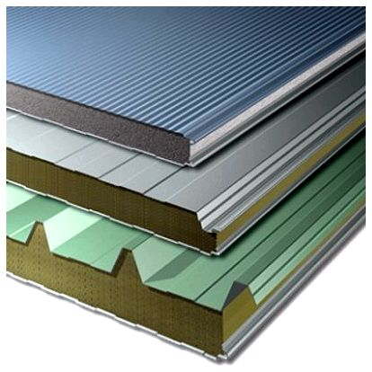 Wall and Roof polyurethane panels
