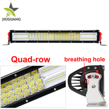 CE ROHS Approved Wholesale High Power Super Bright 384w 22inch Offroad Waterproof Led Light Bar for truck