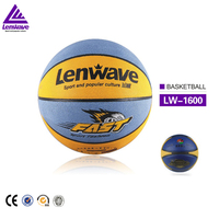 Hot sale double color size 7 (27.5 inch) youth match pu stress fast basketball