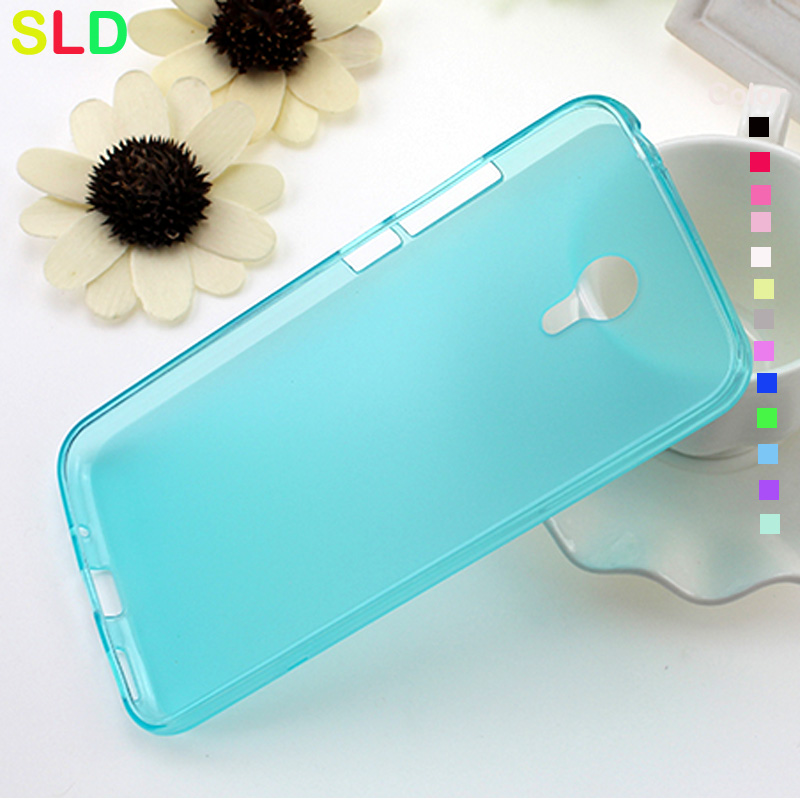Matte tpu pudding back cover for meizu m2 note