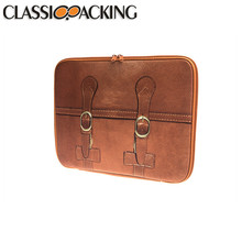 Hot selling classic packing pu laptop case