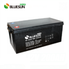 Solar system use deep cycle storage 12v 200ah lead acid battery