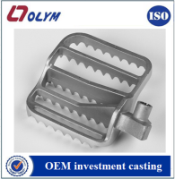 Customized investment casting 17-4ph stainless steel bicycle pedal spare parts