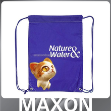China manufacturer cartooon polyester 190t foldable shopping bag