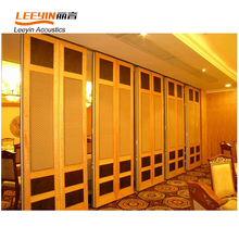 Sound Absorption folding partition wall for meeting rooms/auditorium/hotels/exhibition/banquet hall