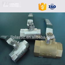 New technology water supply high pressure ball valve handle lock