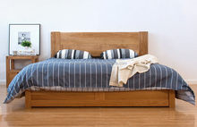 OEM special solid timber wood bed