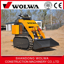 Wolwa mini 21 hp crawler/pedrail skid steer loader for sale