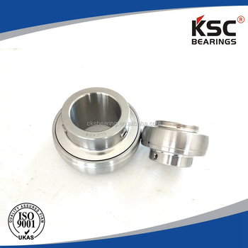 SUCX09 stainless steel ball bearing (1050-45 ST/STEEL )