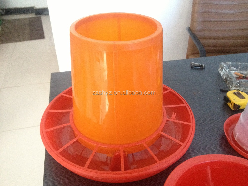 Widely used automatic plastic poultry feeder all over the world