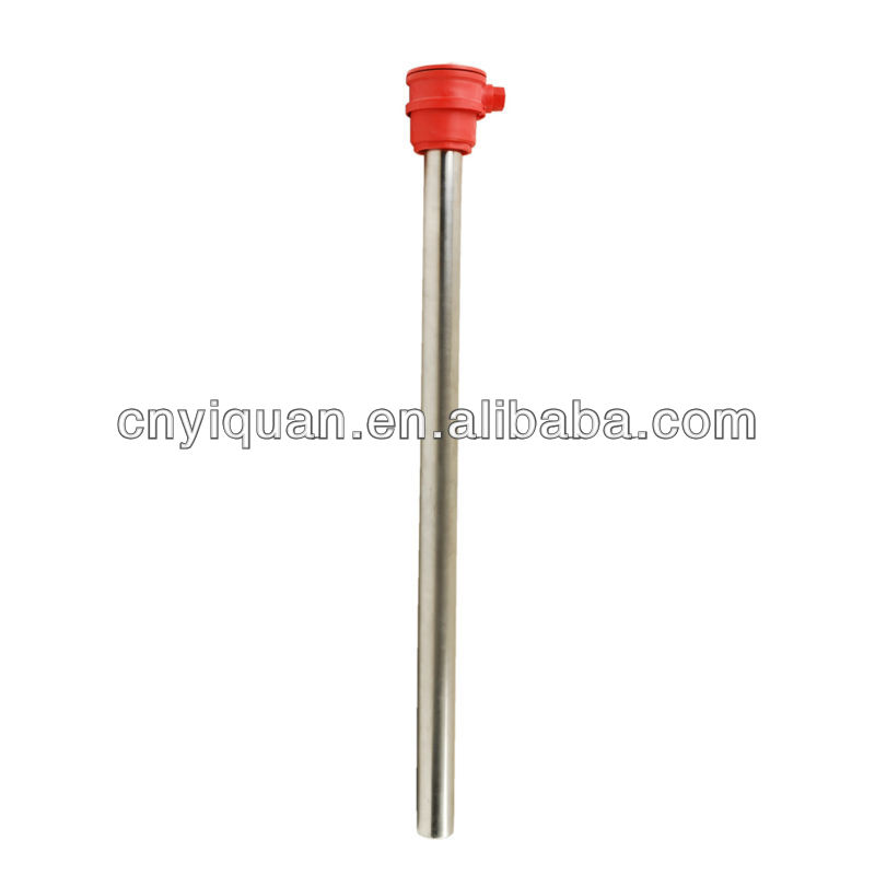 electric single tube water heater match with temperature detector