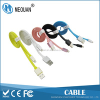 MEOUAN 3ft 6ft 10ft Aluminum alloy USB charging & sync data cable for IOS system